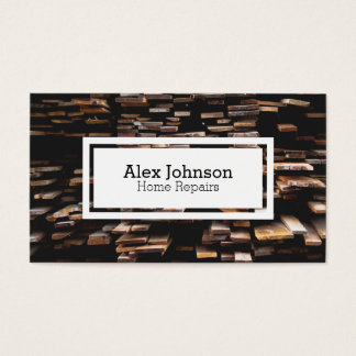 Timber Construction Business Cards & Templates | Zazzle