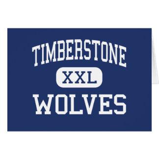 Timberstone - Wolves - Junior - Sylvania Ohio Greeting Cards