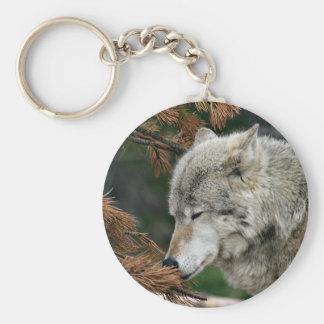 Timberwolf Key Chains