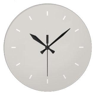 Timberwolf Premium Colorful Large Clock