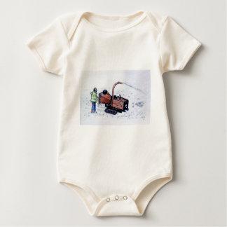 Timberwolf wood chipper baby bodysuit