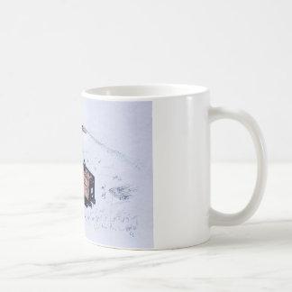 Timberwolf wood chipper coffee mug