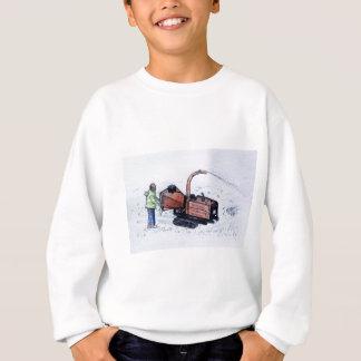Timberwolf wood chipper sweatshirt