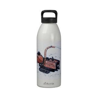 Timberwolf wood chipper reusable water bottles