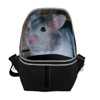 Timbit the Hamster Courier Bag