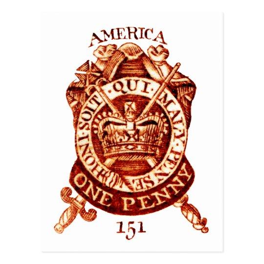 Timbre fiscal de 1765 americanos postales