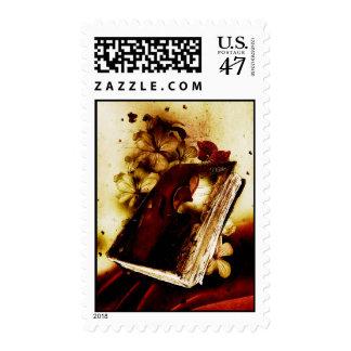 Timbre pour carte postage