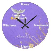 Time 2 Put God Back Clock