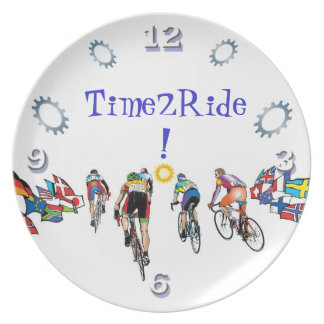 Time 2 Ride! Dinner Plate