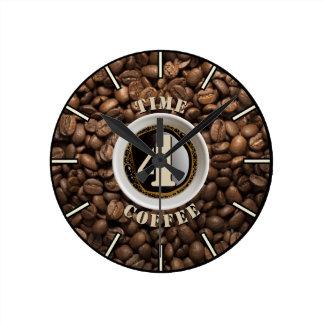 Time 4 Coffee Wall Clock