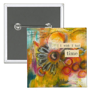 time abstract button