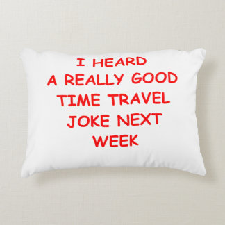 TIME ACCENT PILLOW