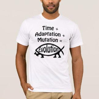Time + Adaption + Mutation = Evolution T-Shirt
