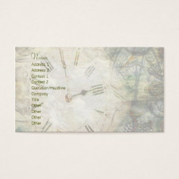 Time After Time Business Card
