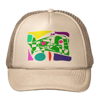 Time and Space Mesh Hat