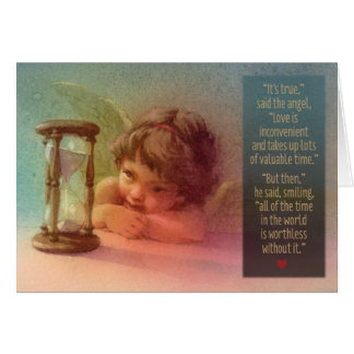 """Time Angel"" - Valentine card"
