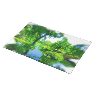 Time Away From the City Cloth Placemat