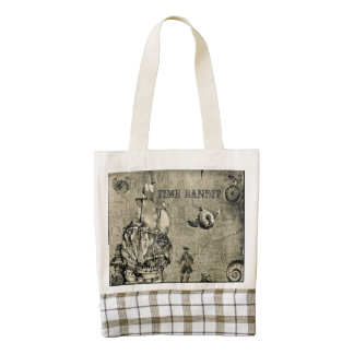 Time Bandit Collection Zazzle HEART Tote Bag