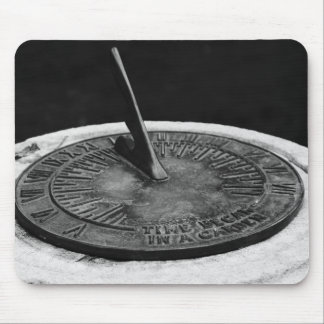 Time Began in a Garden Mouse Pad
