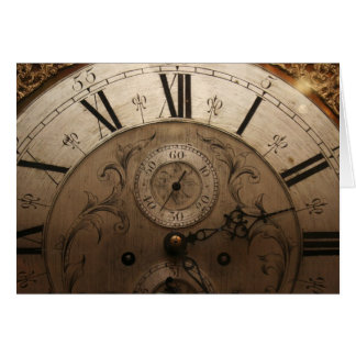 """""""time"""" by Larry Coressel Card"""