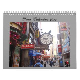 Time Calendar 2011