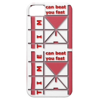 Time Can Beat You Fast iPhone SE/5/5s Case