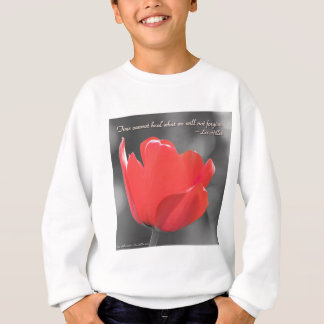 Time Cannot Heal what we... Poster Sweatshirt