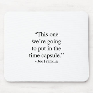Time Capsule Mouse Pad
