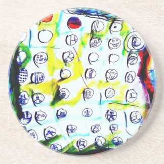 Time Crystals and The Quantum Soup by Luminosity Sandstone Coaster
