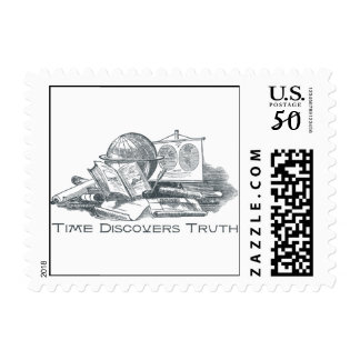 Time Discovers Truth Postage