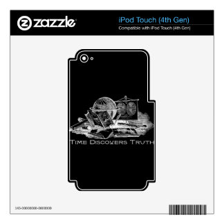Time Discovers Truth Skins For iPod Touch 4G