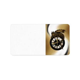 Time Dragon Label