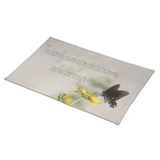 Time Enough Butterfly Placemat