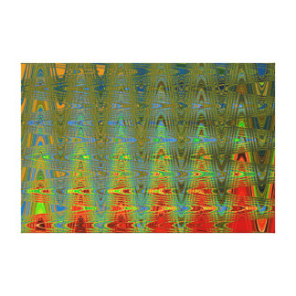 TIME ENTANGLED WITH SPACE IN THE NINTH UNIVERSE CANVAS PRINT