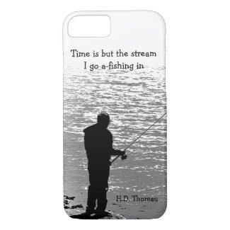 Time Fishing Thoreau Quotation iPhone 7 Case
