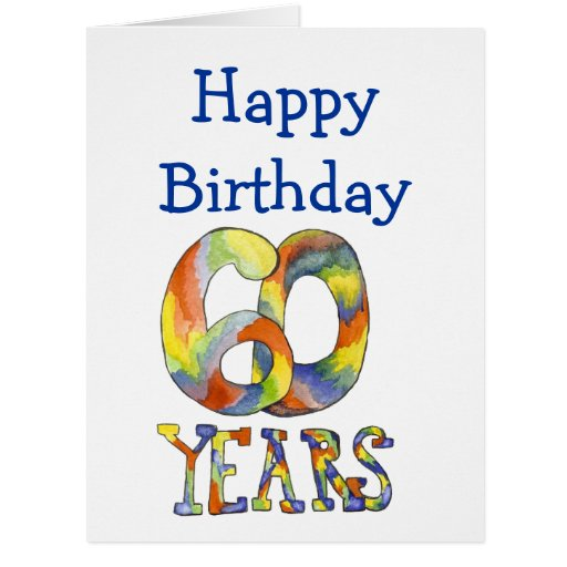 Large Th Birthday Cards For Son ~ Time flies th birthday big card zazzle