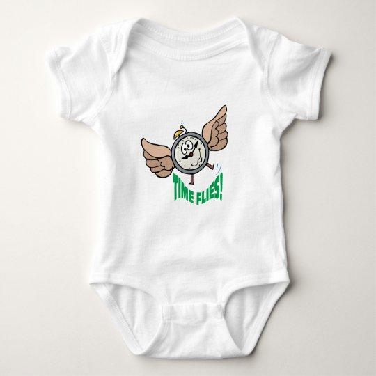 Time Flies Baby Bodysuit