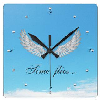 Time Flies Clock