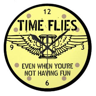 Time flies even when you're not having fun Clock