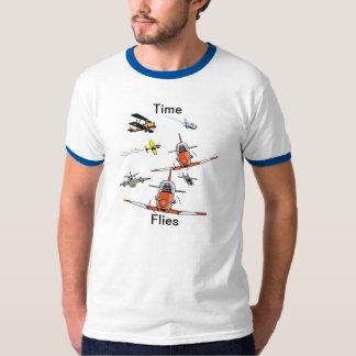 Time Flies Funny Plane Shirt