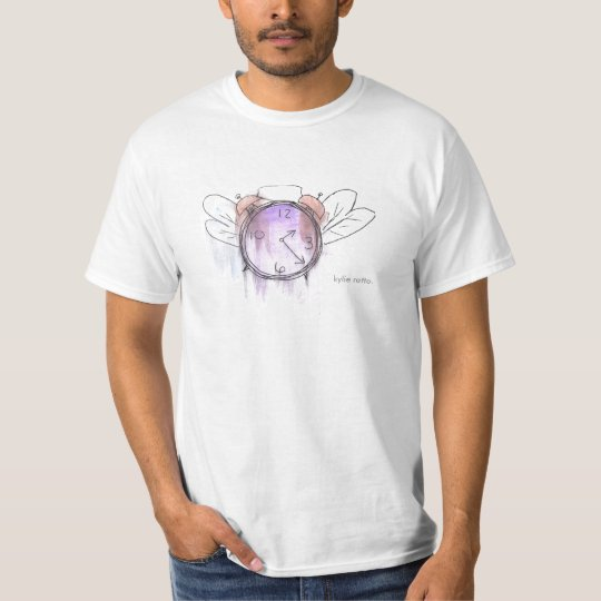 Time flies in watercolor. T-Shirt