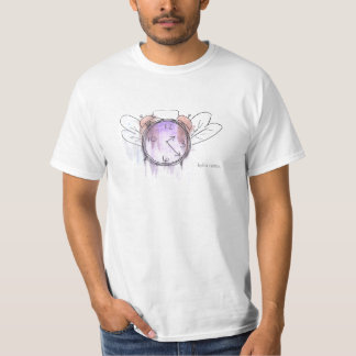 Time flies in watercolor. tshirts