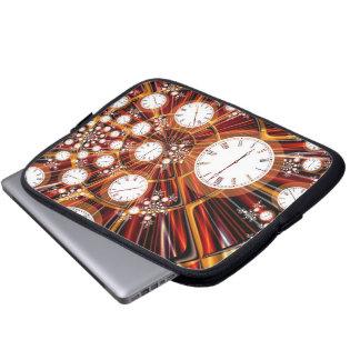 Time Flies Laptop Sleeve