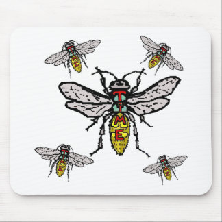 Time Flies! Mouse Pad