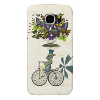 Time Flies Rabbit 3 Samsung Galaxy S6 Case