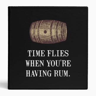 Time Flies Rum Binder
