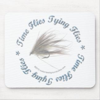 Time Flies Tying Flies Mousepad