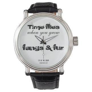 'Time flies' watch