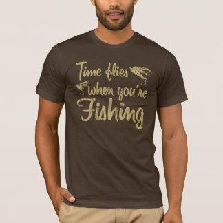 Time Flies When You're Fishing T-Shirt