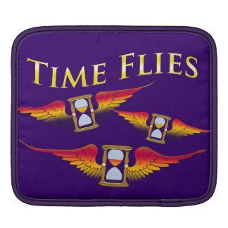Time Flies When You're Having Fun iPad Sleeves